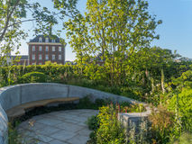 RHS Chelsea Flower Show 2017. The Jo Whiley Scent Garden. LONDON, UK - MAY 25, 2017: RHS Chelsea Flower Show 2017. The Jo Whiley Scent Garden, inspired by Stock Photo