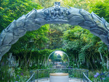 RHS Chelsea Flower Show 2017 Le jardin de centenaire de CWGC images stock