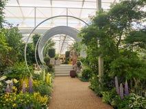 RHS Chelsea Flower Show 2017 O ` s do mundo a maioria de mostra de flor prestigiosa que indica o melhor no projeto do jardim Imagens de Stock Royalty Free