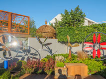 RHS Chelsea Flower Show 2017. The world`s most prestigious flower show displaying the best in garden design. Royalty Free Stock Photo