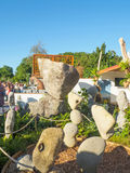 RHS Chelsea Flower Show 2017. The world`s most prestigious flower show displaying the best in garden design. Stock Photography