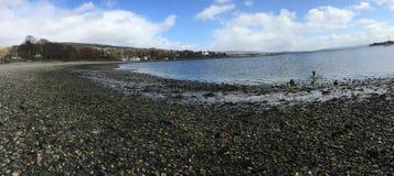 Rhu Helensburgh, Skottland Arkivfoto