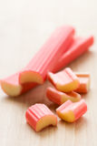 Rhubarb Foto de Stock Royalty Free