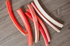 rhubarb Fotografia de Stock Royalty Free