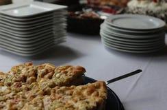 Rhubarb Cake Stock Image