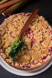 Rhubarb crumble Royalty Free Stock Image