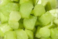 Rhubarb cut Stock Image