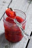 Rhubarb jam Royalty Free Stock Photography