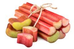 Free Rhubarb On White Stock Images - 78308284