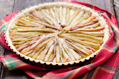 Rhubarb Pie Stock Photography