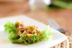Rhubarb salad Royalty Free Stock Image