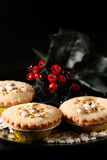 Rhubarb and Stem Ginger Pies II Royalty Free Stock Photos