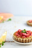 Rhubarb Tarts Royalty Free Stock Photography