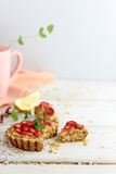 Rhubarb Tarts Royalty Free Stock Photos