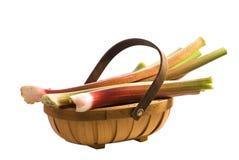 Rhubarb Trug Royalty Free Stock Image