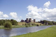 Rhuddlan Castle royalty free stock images
