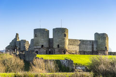 Rhuddlan Castle, Rhyl, North Wales ,UK Royalty Free Stock Photo