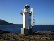 Rhue灯塔,在Ullapool附近 免版税库存图片