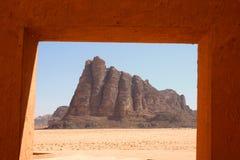 Rhum de Wadi Photos stock