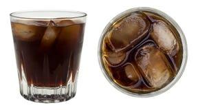 Rhum et coke Image stock