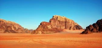 Rhum Jordanie de Wadi photo stock