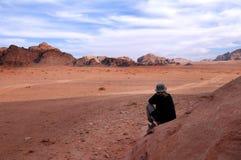 Rhum Jordanie de Wadi Photos stock