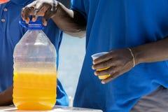 Rhum-poinçon des Caraïbes Photographie stock libre de droits
