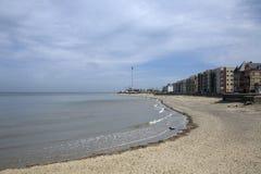 Rhyl beach Stock Image