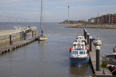 Rhyl harbour Stock Images