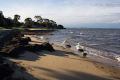 Rhyll foreshore and beach Royalty Free Stock Image