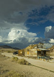 Rhyolite. Ghost city, just outside Death Valley, NV-CA border Royalty Free Stock Photography
