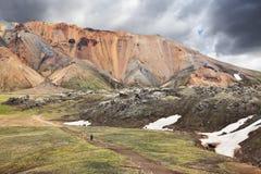 Τα rhyolite βουνά Στοκ φωτογραφία με δικαίωμα ελεύθερης χρήσης