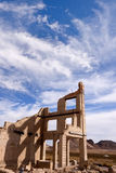 Rhyolite Ghost Town Royalty Free Stock Photos