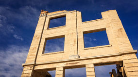 Rhyolite Ghost Town Bank Remains Royalty Free Stock Images