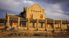 Rhyolite Ghost Town Building Stock Photos
