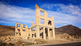 Rhyolite Ghost Town Building Ruins Royalty Free Stock Photo