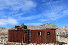 Rhyolite ghost town, Nevada Stock Photography