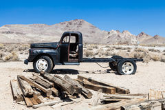 Rhyolite Ghost Town Royalty Free Stock Photography