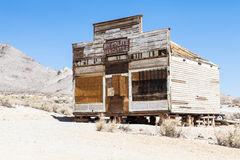 Rhyolite Ghost Town Royalty Free Stock Images