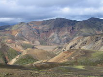 Rhyolite Mountains Stock Image