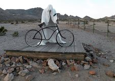 Rhyolite Nevada Ghost Town Photographie stock