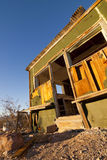 Rhyolite Shack. Old abandoned wooden shack at Rhyolite Ghost Town in Southern Nevada Stock Photos