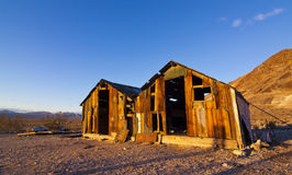 Rhyolite Shacks Stock Images