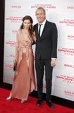 Rhys Ifans και Anna Friel Στοκ Φωτογραφία