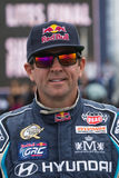 Rhys Millen  rally driver. San Pedro, CA - September 20, 2014:Rhys Millen rally driver at the Red Bull GRC Global Rallycross at the Port of Los Angeles in San Royalty Free Stock Photos