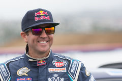 Rhys Millen  rally driver. San Pedro, CA - September 20, 2014:Rhys Millen rally driver at the Red Bull GRC Global Rallycross at the Port of Los Angeles in San Royalty Free Stock Images