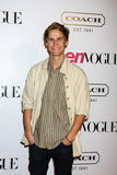 Rhys Wakefield. LOS ANGELES - SEPT 23:  Rhys Wakefield arriving at  the 9th Annual Teen Vogue Young Hollywood Party at the Paramount Studios on September 23 Stock Images