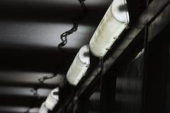 Rhythm. Black and white rhythm of the lamp Stock Images