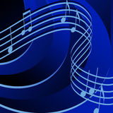 Rhythm in Blue Stock Photos