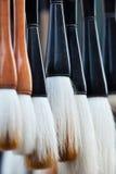 The rhythm of brushes Royalty Free Stock Image